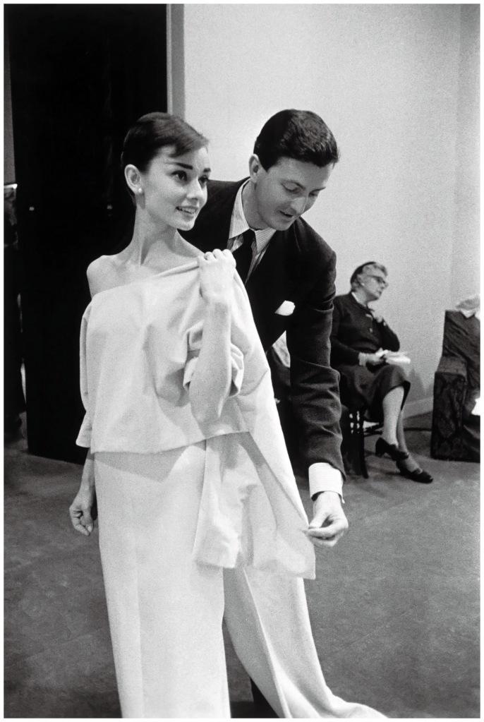 Audrey with the original Hubert